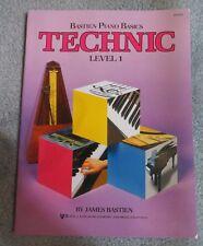 Level 1 Bastien Piano Basics Technic WP216 Kjos