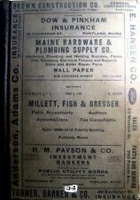1938 Portland Maine City Directory