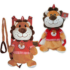 Baby Animal Plush Lion Backpack Safety Anti lost Harness Leash Kids Toddler Bag