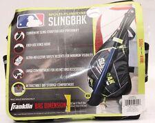 Franklin Multi-Purpose Slingbak Baseball Softball Equipment Bag Black/Gray/Lime