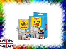 Bed Bug Traps - 3 Pack for the home -traps and monitors bed bugs Zero In NEW