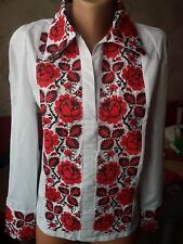Ukrainian embroidery, embroidered blouse, S-2XL+