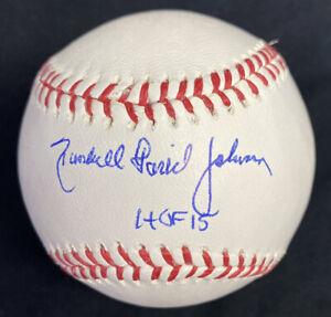 Randall David Randy Johnson HOF 15 Signed Full Name Baseball Steiner Sports Holo