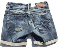 G-Star Raw '3301 SHORT WMN' Denim Shorts Size 24 NEW RRP $189 Womens