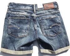 G-Star Raw '3301 SHORT WMN' Denim Shorts Size 24 NEW RRP $189 Womens
