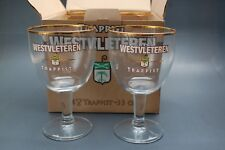 Glasses Trappist Westvleteren 33cl. Ask for the right shippingcosts !
