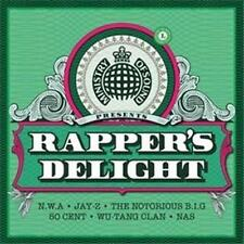 MINISTRY OF SOUND (RAPPER'S DELIGHT 3CD SET - BRAND NEW + FREE POST)