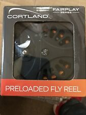 NEW Cortland Fairplay WF5/6F PreLoaded Fly Fishing Reel ~ New!!