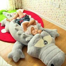 Oversized Crocodile Plush Pillow Mat Stuffed Toy Cartoon Size 60, 90 Or 110cm