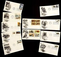 US 1972 FDC National Parks Olympics Wildlife Conservation American Revolution