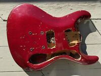 1964 Mosrite The Ventures Model Electric Guitar Body VINTAGE RARE AS-IS