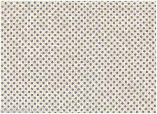 Tissu 100 % Lin - Patchwork, Cartonnage, Sac, Deco - Vendu par 20 cm - Pois