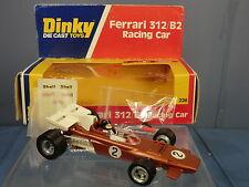 Dinky Toys Modelo No.226 Ferrari 312/B2 F1 coche de carreras (versión de bronce) MIB