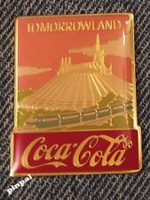 Disney Pin ~ Tomorrowland ~15th Anniversary~WDW~1986~Coca Cola~Coke
