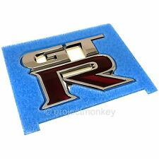 "OEM Nissan 84894-JF00A 09-17 GT-R R35 Rear ""GT-R"" Emblem Badge GTR Genuine Part"