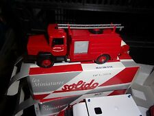 SOLIDO IVECO SAPPER FIREFIGHTERS CHATEAUNEUF OF GALAURE