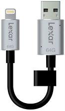 LEXAR-LJDC20i-64GBBNL-JumpDrive-C20i-64GB-USB-3-0 *New*