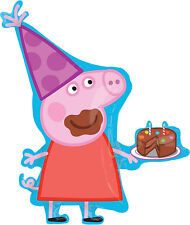Peppa Pig Party Supplies SUPER SHAPE FOIL Balloon Anagram Licensed