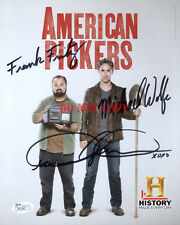 AMERICAN PICKERS HAND SIGNED 8x10 PHOTO SIGNED BY MIKE+FRANK+DANIELLE  Reprint