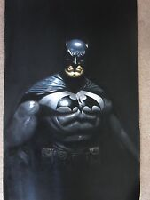 Batman Oil Painting 40x28 inches in Joker Dark Knight Bane Gotham