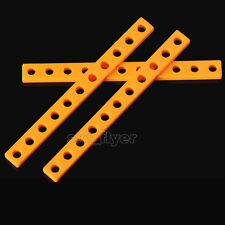 2pcs 99*9mm Plastic Connect Strip Toy Car Body Frame Robot Model Hobby DIY Part