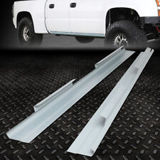 FOR 01-07 CHEVY SILVERADO GMC SIERRA CREW CAB PAIR OUTER SLIP-ON ROCKER PANEL
