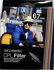 Vivitar 67mm (Cpl) Circular Polarizer New