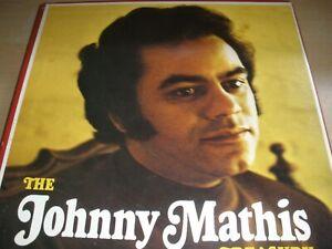 The Johnny Mathis Treasury 6-Record Box Set 1973 Columbia House 6P 6030