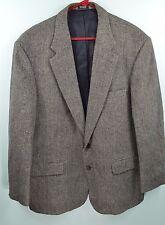 Mens Robert Stock Blazer Sport Coat Sz 44 R _ Camel Hair Blend_Fully Lined_- R61