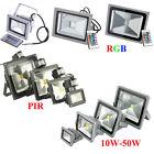 10W 20W 30W 40W 50W LED RGB PIR Flood Spot Light Outdoor Landscape Garden Lamps