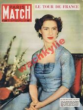 Paris Match 225 11/07/1953 Margaret tour de France Everest alpinisme Tignes IRA