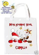sac shopping noël sac à commissions sac à cadeaux mon premier noel réf 27