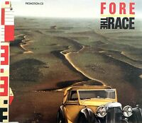 Fore Maxi CD The Race - Promo - Germany (EX/EX)