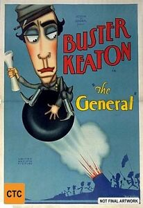 The General Buster Keaton DVD R4 very good condition