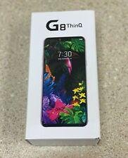 New LG G8 THINQ G820U 128GB Smartphone Unlocked for ATT T-Mobile & Sprint Silver