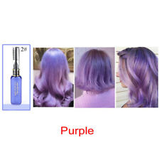Temporary Purple Hair Dye Cream Magic Non-toxic Salon DIY Hairdressing Beauty