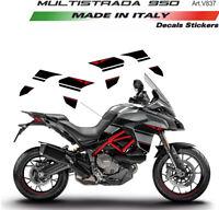 Adesivi per fiancate laterali - Ducati Multistrada 950 - 1260