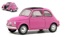 Fiat 500 Pink 1969 1 18 Model 1801402 Solido
