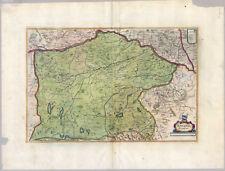 BAVARIA Ducatus-Baviera-RAME-mappa - MAP Merian 1638