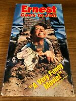 Ernest Goes To Jail VHS VCR Video Tape Movie Jim Varney Used