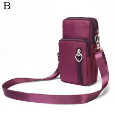 Women Mini Crossbody Canvas Shoulder Bag Wallet Purse Coin Phone Bag Casual Gift