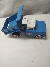 Tonka Blue Hydraulic Dump Truck vintage pressed steel toy rare