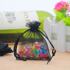 25PCs Premium Organza Gift Bags Jewelry Pouches Wedding Christmas Favor 7x9cm