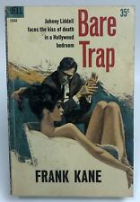 BARE TRAP Frank Kane DELL Johnny Liddell SPY Mystery