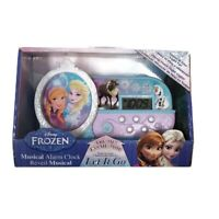 Disney Frozen Elsa Anna And Olaf Night Music Alarm Clock Let It Go Song New