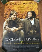 Good Will Hunting Original Movie Poster 1997 27 x 40