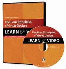 Learn by Video: The Four Principles of Great Design by Robin Williams (2014 DVD)