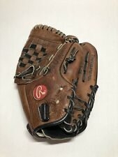 Rawlings Rpt20 11.5 Inch Brown Leather Rht Baseball Softball Glove