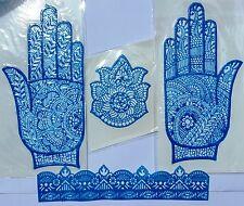 Henna Palm Stencils Temporary Tattoo