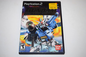 Mobile Suit Gundam Encounters In Space Playstation 2 PS2 Game Case w/ Artwork